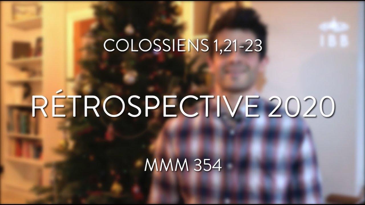 Rétrospective 2020 (Colossiens 1,21-23)