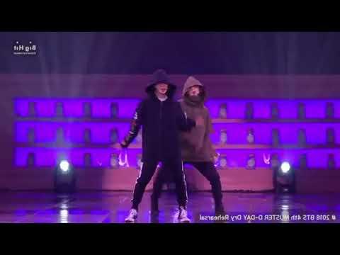 BTS   'Best Of Me' mirrored Dance Practice