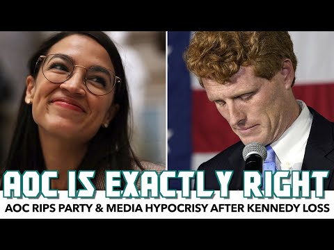 AOC Rips Party & Media Hypocrisy After Kennedy's Loss