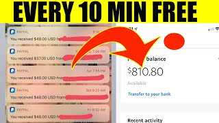 Make $50 EVERY 10 MIN FOR FREE (No Work Required) | Make Money Online