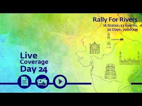 Event Rally for Rivers at Lucknow