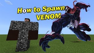 How to Spawn VENOM | Minecraft PE
