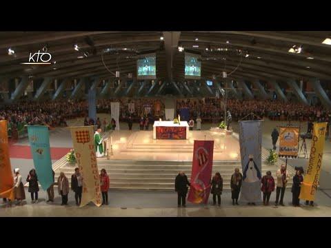 Messe du rassemblement national des chorales liturgiques à Lourdes
