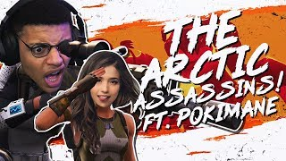 THE ARCTIC ASSASSINS! DUOS Ft. Pokimane (Fortnite BR Full Match)