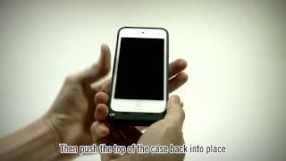 Apple IPod 5/6 Generation Battery Case Installation Video | I-Blason