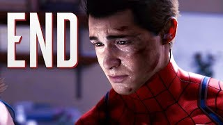 THE END IS SO SAD!! | Spider Man PS4   ENDING