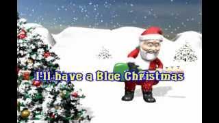 elvis presley blue christmas karaoke - Blue Christmas Karaoke