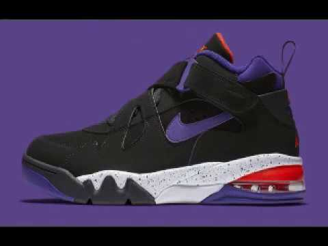 Barkley's Nike Air Force Max CB Releasing in Suns Inspired Colorway Chuck's first signature model