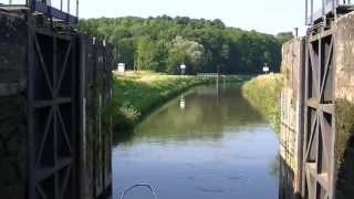 How to operate a Lock on a French river or canal
