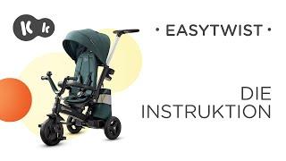 Wie wird das EASYTWIST-Dreirad von Kinderkraft aufgebaut? Bedienungsanleitung