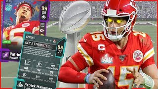 99 Mahomes Activates MVP CLUTCH GENE In New Game Mode! (Madden 20 Ultimate Team)