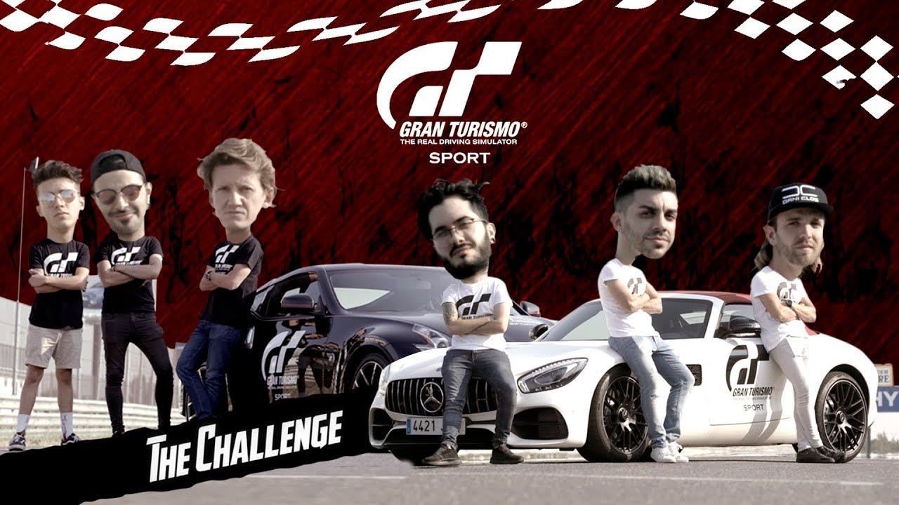 Gran Turismo Sport: Challenge | 4 youtubers luchan por demostrar quién es el mejor piloto en nuestro canal