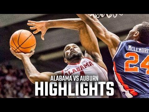 Highlights from Alabama's 76-71 win over Auburn