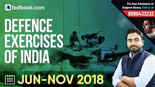 Defence Exercises of India with other Countries | General Awareness for SSC, Bank & Railways