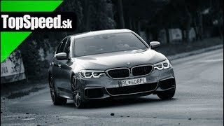 BMW M550d test - Maroš ČABÁK TopSpeed.sk