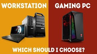 Workstation vs Gaming PC - Which Should I Choose? [Simple Guide]
