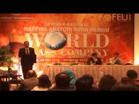 Gatot Triharga, Deputi Menteri BUMN, Seminar BUMN Menuju World Class Company