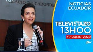 NOTICIAS ECUADOR: Televistazo 13h00 30/julio/2020