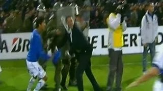 Luxemburgo é agredido em partida da Taça Libertadores