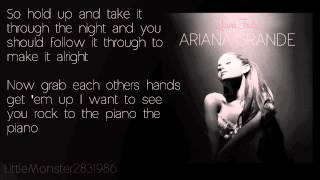 Ariana Grande - Piano (lyrics)