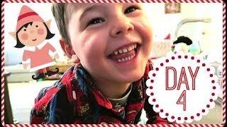 HE WAS SO EXCITED | ELF ON THE SHELF | VLOGMAS 2017
