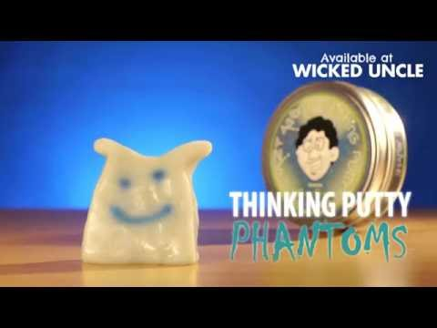 Youtube Video for Phantom Thinking Putty - Glows In The Dark