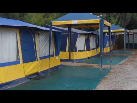 Campeggio In case mobili o tende con tutti i confort elenco compagnie