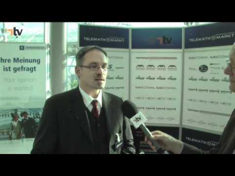 xonion-Geschäftsführer Meunier - Telematik Award 2011
