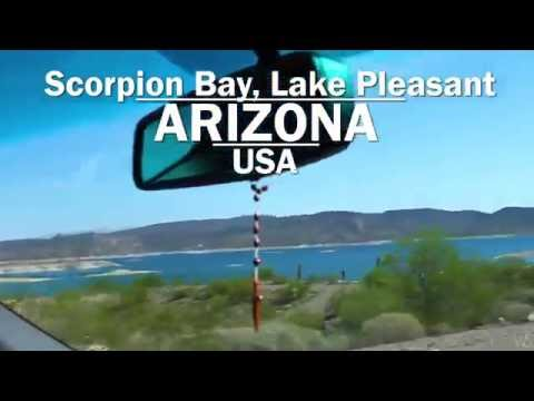 Video Lake Pleasant, Arizona, USA