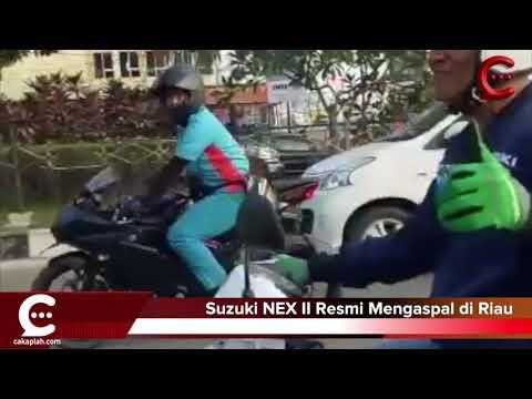 Sasar Generasi Millenial, Suzuki NEX II Resmi Mengaspal di Riau