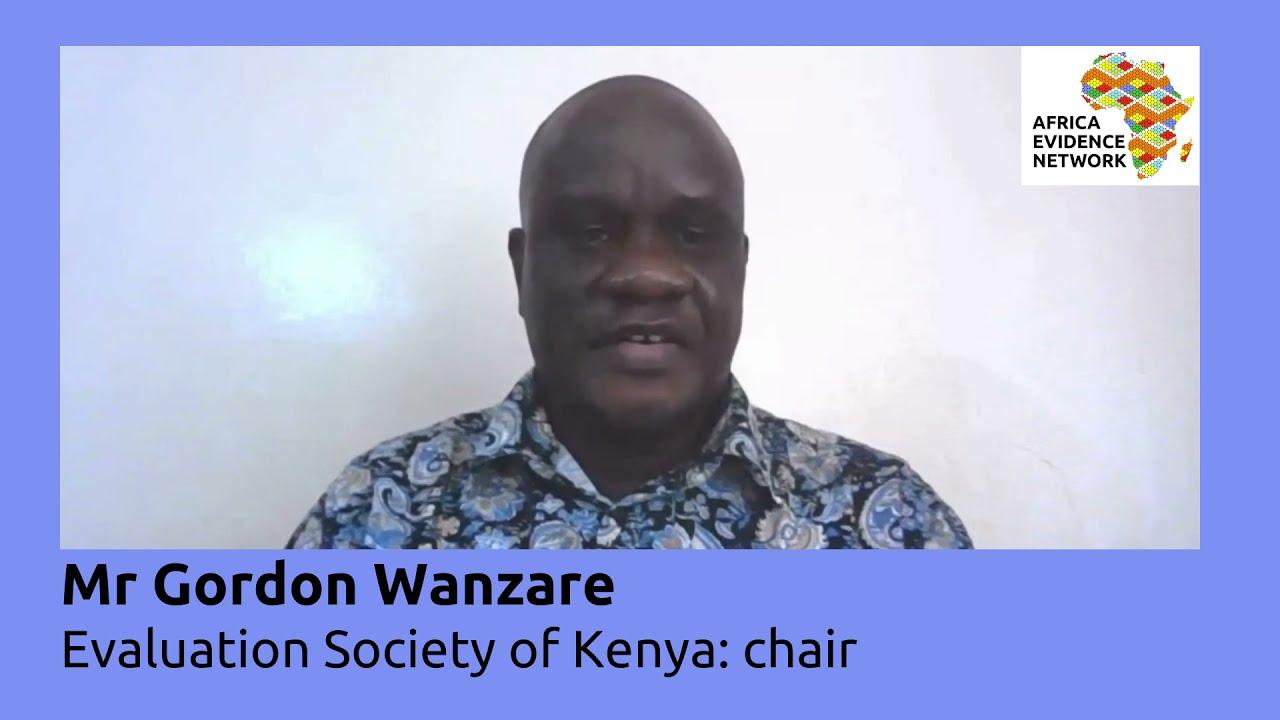 Africa Evidence Week 2021: Emerging EIDM leader_ Gordon Wanzare: why I fell in love with EIDM