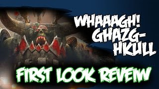 Waaagh Ghazghkull First Look Review - New Supplement Review