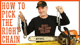 How To Buy The Proper Chain For A Chainsaw - Video