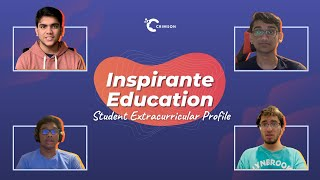 youtube video thumbnail - Inspirante Education | Student Extracurricular Profile