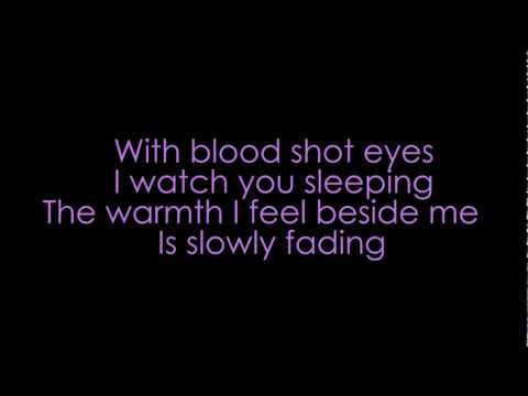 Bullet for my Valentine - Your tears don't fall (acoustic version) (lyrics + HD)