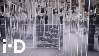 Enter the Mirror Maze, Es Devlin's video sculpture, presented by The Fifth Sense