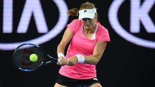 Ekaterina Makarova v Karolina Pliskova highlights (3R) | Australian Open 2016