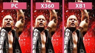 WWE 2K16 – PC vs. Xbox 360 vs. Xbox One Graphics Comparison