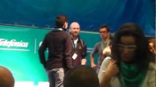 Google Chrome Incognito Hackathon after winners anouncement at Campus Party Berlin