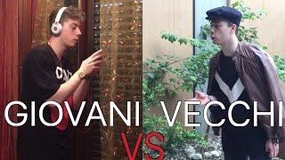 GIOVANI VS VECCHI - DIFFERENZE