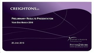 creightons-crl-full-year-preliminary-results-presentation-june-2018-30-06-2018