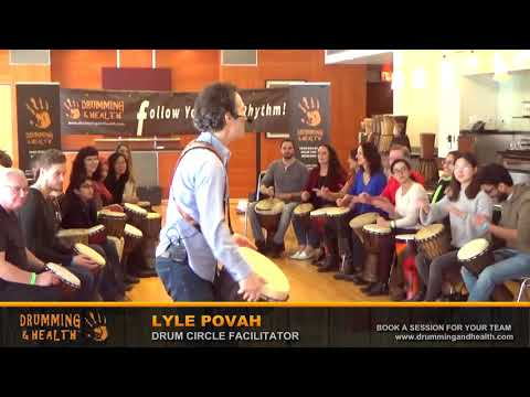 TEDxStanleyPark 2018 Drum Circle with Lyle Povah [4]