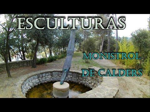 PUEBLO MONISTROL DE CALDERS Precioso recorrido parte 1