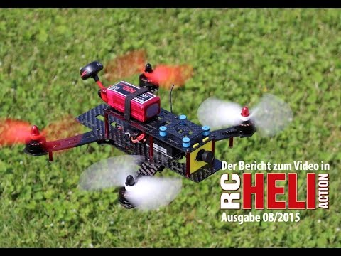 RC-Heli-Action: Race-Quadrokopter Alpha 250Q von Graupner
