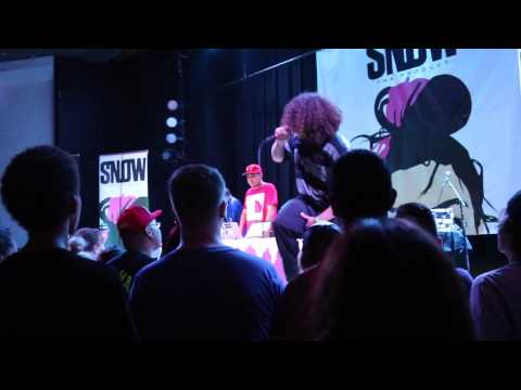 Seuss opening for Snow Tha Product