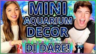 DIY Mason Jar Aquarium?! | Di-Dare w/ Tiffany Ma & Alex Reininga