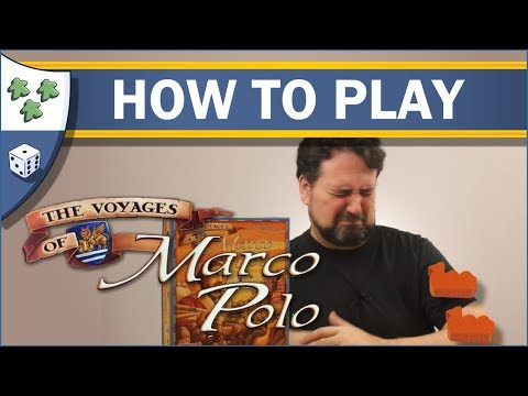 Nights Around a Table - How to Play The Voyages of Marco Polo