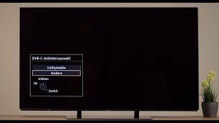 Einrichten von DVB-C 4K UHD TV | Tutorial | Panasonic Academy