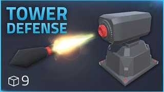 How to make a Tower Defense Game (E09 MISSILE LAUNCHER) - Unity Tutorial