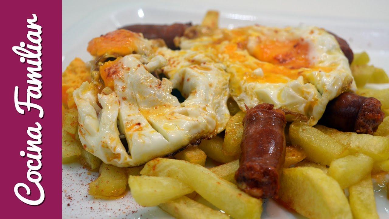 Patatas fritas con chorizo y huevos rotos | Javier Romero Cap. 53 - Temporada 2